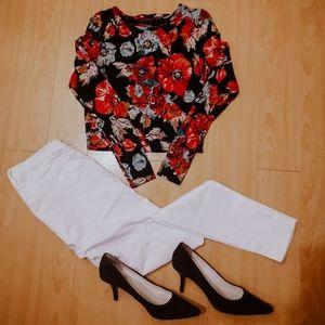 Topshop floral dress - Size M